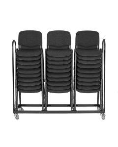 Wózek Wózek do krzeseł ISO 3-rzędowy