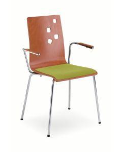 Krzesło AMMI z podłokietnikami
