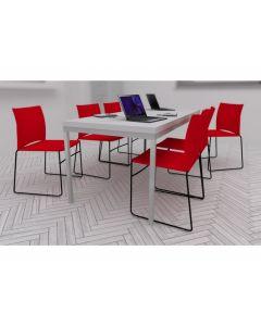 Zestaw: krzesło Ariz 570V, stół Simple 180x80