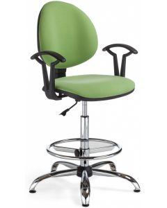 krzesło SMART GTP27 steel02 Ring Base chrome