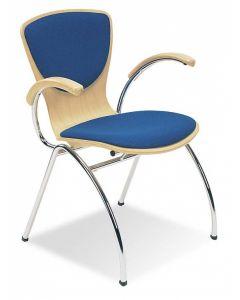 Krzesło BINGO arm wood plus