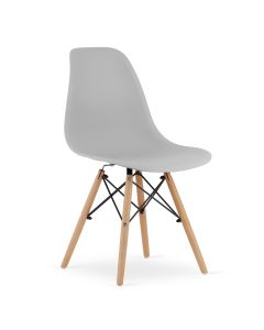 krzesło OSAKA szare 4 sztuki