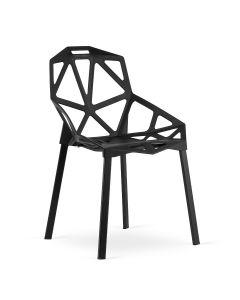 krzesło Essen czarne 4 sztuki