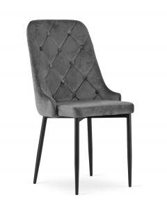 krzesło Capri szare 4 sztuki