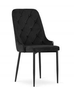 krzesło Capri czarne 4 sztuki