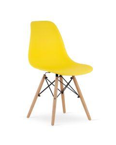 krzesło OSAKA żółte 4 sztuki