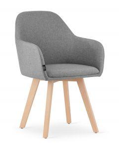 krzesło FERMO ciemno szare 2 sztuki