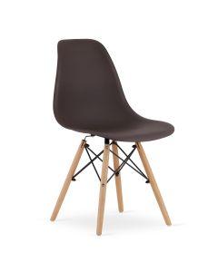 krzesło OSAKA kawa 4 sztuki