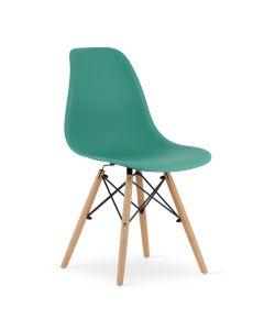 krzesło OSAKA zielone 4 sztuki
