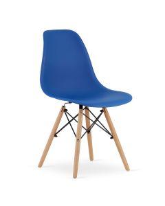 krzesło OSAKA niebieskie 4 sztuki