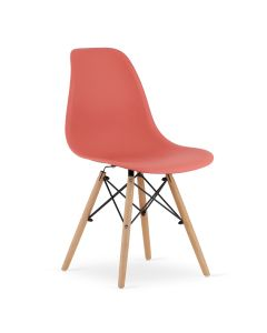 krzesło OSAKA cynober 4 sztuki