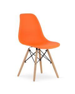 krzesło OSAKA pomarańczowe 4 sztuki