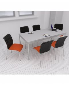 Zestaw: krzesło Sun H, stół Simple 180x80