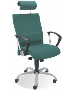 krzesło NEO II HRUA LU GTP9 steel02 alu