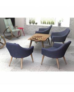 Zestaw  Krzesło B-1234     stolik STK-1403
