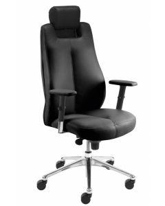 fotel SONATA LUX HRUA synchro R15 steel28 chrome