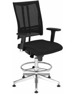 Krzesło @-MOTION z podnóżkiem