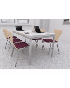 Zestaw: krzesło Ligo K21H, stół Simple 180x80