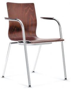 krzesło Espacio 4L ARM chrom