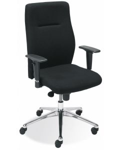 krzesło ORLANDO UP R16H steel28 chrome