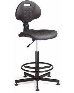 krzesło NARGO RTS steel26 Ring Base (NEGRO)