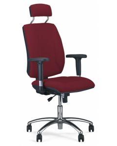 krzesło QUATRO HRU R2C steel04 chrome