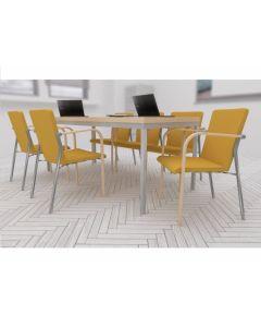 Zestaw: krzesło Kala 670H, stół Simple 180x80
