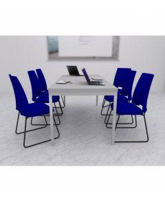 Zestaw: krzesło Arca 21V, stół Simple 180x80