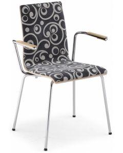 krzesło CAFE VII B PLUS ARM (LATTE)
