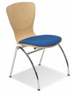 Krzesło Bingo WOOD seat plus