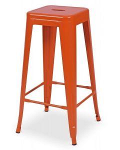 hoker Paris inspirowane Tolix Pomarańczowy Mat