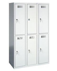 Szafa skrytkowa szkolna SUS 432 ST 6-skrytkowa (1800 x 1200 x 500)