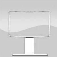 HRU - stały, tapicerowany zagłówek